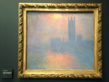 Impressionist painting of London